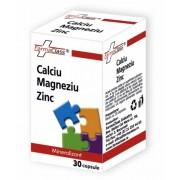 Calciu Magneziu Zinc 30 capsule FarmaClass