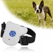 1pcs Pet Control Collar Train Training Device Ultrasonic Dog Anti Bark Collar