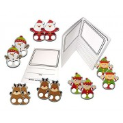 Draw and Write with Christmas Finger Puppets - Visual and Kinesthetic Support for Teaching Writing Bundle