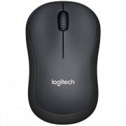 Logitech 910-004878 M220 Silent Mouse Wireless Colore Nero