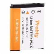 PROBTY EN-EL19 EN EL19 Camera Batterij Voor Nikon Coolpix S2600 S2700 S3100 S3500 S4100 S4150 S4400 S5200 S6400 S6900