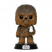 Pop! Vinyl Figura Funko Pop! Chewbacca - Star Wars: Los últimos Jedi