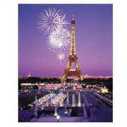 Chamberart Jigsaw Puzzle 1000 Pieces Premium Licensed Puzzles Posters Included (Eiffel Tower)