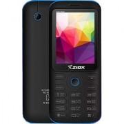 Ziox Starz Flash (Dual SIM 2.4 Inch Display 1000 Mah Battery Black-Red)