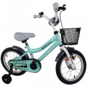 Bicicleta copii 4-7Ani 16 inch Sun Baby BMX Junior Turcoaz