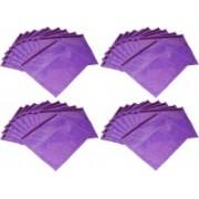 Ajabh High Quality Pack of 50 purple Bridal Single saree travelling bag case Gift Organizer bag vanity pouch Keep saree/Suit/Travelling Pouch(Purple)