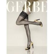 Gerbe Eleganta stay-ups utan mönster Fascination 10 DEN noir 4