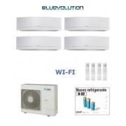 Daikin Kit Quadri Emura White 4mxm68m + 3 X Ftxj20mw Wi-Fi + Ftxj35mw Wi-Fi 7+7+7+12
