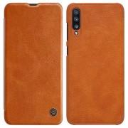 Nillkin Qin Series Samsung Galaxy A70 Flip Cover - Bruin