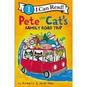 Pete the Cat's Family Road Trip, Hardcover/James Dean