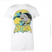 Geek Clothing Camiseta DC Comics Batman Retro - Mujer - Blanco - M - Blanco