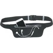 Running Belt Zwart | Heuptasje Sport |Running Belt Heuptas |Hardloop Heuptas | Verstelbare Buideltas |Heuptas Telefoonhouder | Hardloop Riem | Zwart Heuptas | Hardloop Teloonhouder |