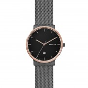 Часовник SKAGEN - Ancher SKW6296 Black/Rose Gold