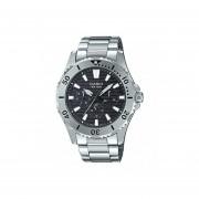 Reloj Analógico Hombre Casio MTD-1086D-1A Cronógrafo - Plateado con Negro