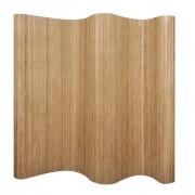 vidaXL Room Divider Bamboo Natural 250x195 cm
