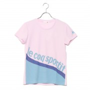 【SALE 50%OFF】ルコックスポルティフ LE COQ SPORTIF レディース 半袖機能Tシャツ 半袖シャツ QMWLJA01 レディース