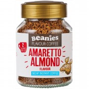 Beanies Flavour Co Beanies Decaf Amaretto Almond Flavour Instant Coffee