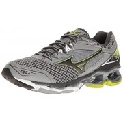 Mizuno Men's Wave Creation 18 Running Shoe, Dark Slate/Black, 15 D US