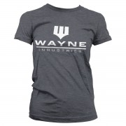 Batman - Wayne Industries Logo Girly Tee
