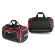 Fila Cypress Small Sport Duffel Bag Black/Red
