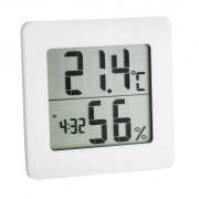 Termohigrometru digital cu ceas si alarma TFA S30.5033.02