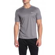 Nike Miler Dri-Fit Tee GUNSMOKEHTRREFLECTIVE SILV