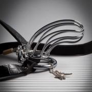 Cintura di Castitá Maschile FETISH FANTASY in Acciaio