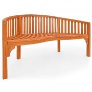Ławka Ogrodowa Drewniana Meble Ogrodowe 150 Cm