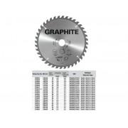 KÖRFŰRÉSZLAP GRAPHITE 57H648 165X30 Z 18