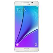"Telefon Mobil Samsung Galaxy Note 5 Duos N920CD, Procesor Octa-Core 1.5GHz / 2.1GHz, Super Amoled Capacitive touchscreen 5.7"", 4GB RAM, 32GB Flash, 16MP, Wi-Fi, 4G, Dual Sim, Android (Alb) + Cartela SIM Orange PrePay, 6 euro credit, 4 GB internet 4G, 2,00"