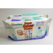 Himalaya Baby Wipes 72's x 2