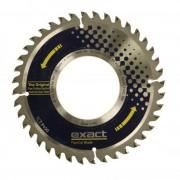 TCT P150 Exact Tools Disc cu dinti din carbura pentru tăierea conductelor din plastic