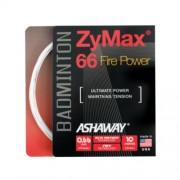 Ashaway Zymax 66 Fire Power fehér tollaslabda húr