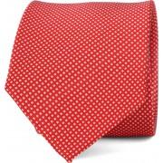 Suitable Krawatte Seide Rot F91-6 - Rot