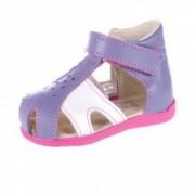 Sandale ortopedice din piele naturala pentru fetite MRUGALA D 1111-51 Multicolor 22