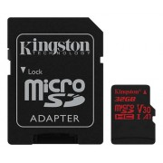 Kingston microSDHC Canvas React 100R/70W UHS-I, 32GB