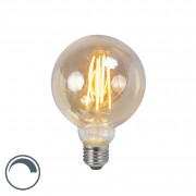 LUEDD E27 LED G95 Smoke Filament 5W 450LM 2200K Dimmable