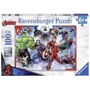 PUZZLE MARVEL AVENGERS, 100 PIESE - RAVENSBURGER (RVSPC10808)