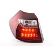 FK-Automotive feux arrière LED BMW série 1 E87/E81 3/5-porte. année 04-06 clair/rouge