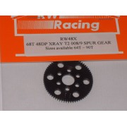 RW 48 DP 68T Xray T4, T3 offset Supa-lite Spur Gear 68 Tooth