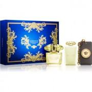 Versace Yellow Diamond Intense lote de regalo VII. eau de parfum 90 ml + leche corporal 100 ml + colgante 1