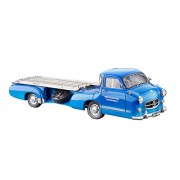 "CMC-Classic Model Cars USA Transporter ""Blue Wonder"" 1955 Mercedes-Benz Racing Car"