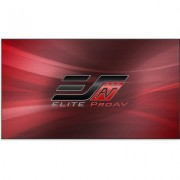 Elite Screens Pro Thin Permanently Tensioned Fixed Frame Ulra Thin Bezel Screen