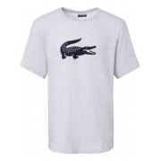 Lacoste Heren Shirt met korte mouwen Van Lacoste grijs