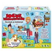 Joc educativ - Socoteste si cheltuieste, Jocul magazinelor