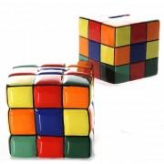 Merkloos Spaarpot kubus 10 cm