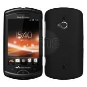 Sony Ericsson Live with Walkman Твърд Капак Черен + Протектор