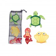 Jucarii pentru scufundare Spokey ZOO 1 - broască țestoasă, scoică, mare virgin