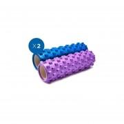 Foam Rollers 2x Dentado 45 cm x 14 cm / Mod Sd-y-008-005