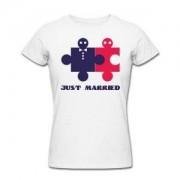 Футболка *Just Married* женская